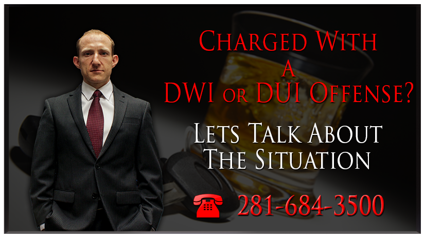 DWI - Houston criminal defense attorney